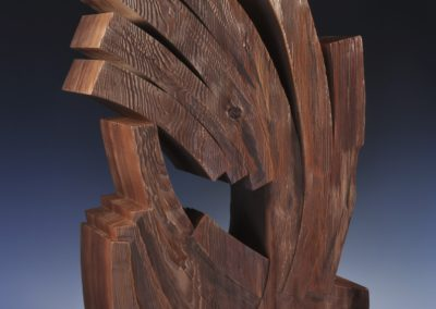 1289 Intertwined<br>Redwood 30 x 17.5 x 8 inches