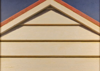 American Gable (2007)<br>oil on canvas, 48x48 inches