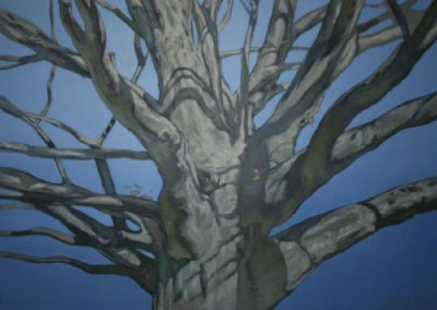 Beech (2011)<br>oil on canvas, 36 x 48 inches