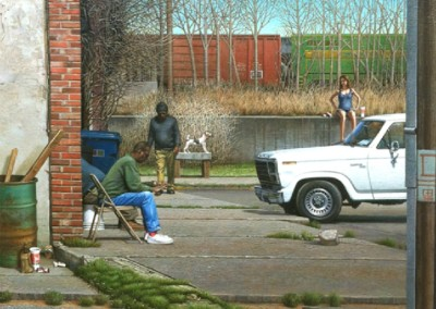 Clarksdale (2012)<br>oil on canvas, 30x36 inches