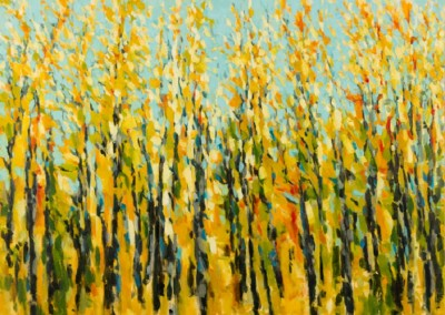 Confetti (2012)<br>oil on canvas, 36x48 inches