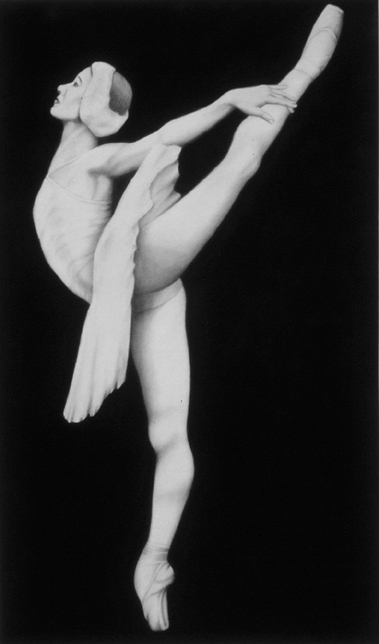 D-43 (2009)<br>charcoal on paper, 69 x 42 inches