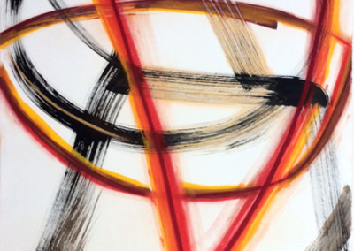 Diamond Hot (2014)<br>pastel ink paper, 40 x 30 inches