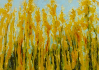 Hello Sunshine (2013)<br>oil on canvas, 30x40 inches