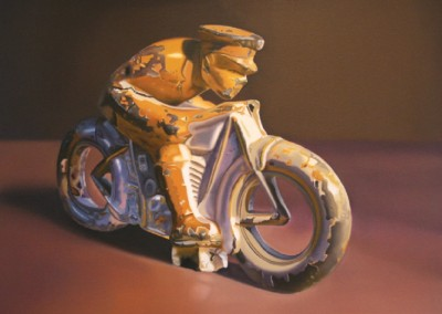 Military Cycle<br>oil on canvas, 30x40 inches