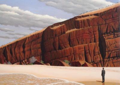 Return (2016)<br>acrylic on canvas, 36 x 48 inches