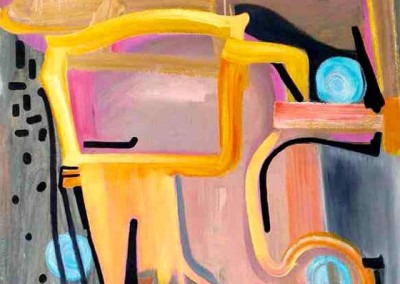 S.Martini (2012)<br>oil on canvas 46x36in.