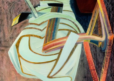 Stir it Up (2010)<br>oil on canvas, 62 x 53