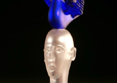 Suspended in Dreams #20<br>glass, 26x13.5x12 inches