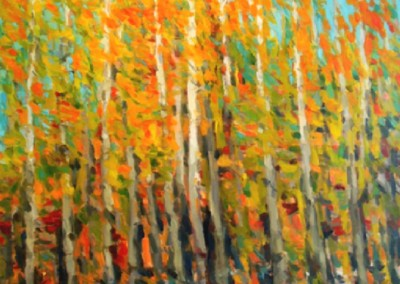 Tapestry (2011)<br>oil on canvas, 60x48 inches SOLD