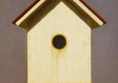 White Bird House (2014)<br>oil on canvas, 24x18 inches, SOLD
