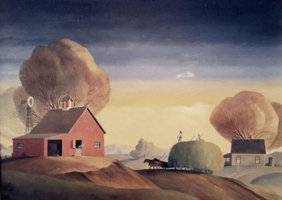The Largest Load (1982)<br>oil on canvas, 30x40 inches