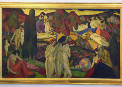 Utopia (1924)<br>oil on canvas, 45 x 76 inches