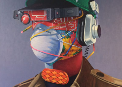 Miner (2014)<br>oil on canvas, 56 x 42 inches