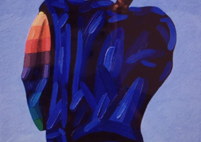 Youth Series (2012)<br>oil on canvas, 15 x 12 inches