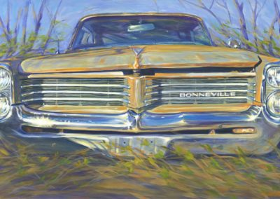 Bonneville (2015)<br>acrylic on canvas, 64 x 40 inches